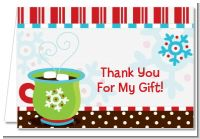 Hot Cocoa Party - Christmas Thank You Cards