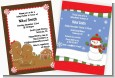 Christmas Baby Shower Invitations thumbnail