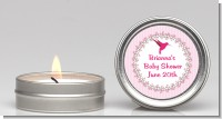 Hummingbird - Baby Shower Candle Favors