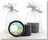 Humpty Dumpty - Baby Shower Black Candle Tin Favors