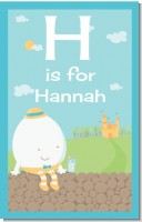 Humpty Dumpty - Personalized Baby Shower Nursery Wall Art