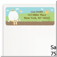 Humpty Dumpty - Baby Shower Return Address Labels