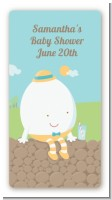 Humpty Dumpty - Custom Rectangle Baby Shower Sticker/Labels