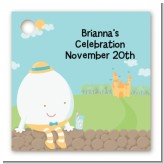 Humpty Dumpty - Personalized Baby Shower Card Stock Favor Tags