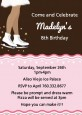Ice Skating African American - Birthday Party Invitations thumbnail