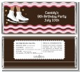 Ice Skating African American - Personalized Birthday Party Candy Bar Wrappers thumbnail