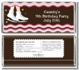 Ice Skating - Personalized Birthday Party Candy Bar Wrappers thumbnail