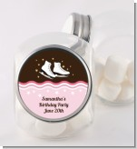 Ice Skating - Personalized Birthday Party Candy Jar