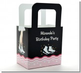 Ice Skating - Personalized Birthday Party Favor Boxes