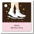 Ice Skating - Personalized Birthday Party Card Stock Favor Tags thumbnail
