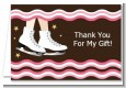 Ice Skating - Birthday Party Thank You Cards thumbnail