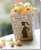 Ready To Pop Pastel Stripes and Dots - Baby Shower Popcorn Boxes