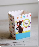 Ready To Pop Colorful Dots - Baby Shower Popcorn Boxes