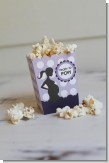Ready To Pop Purple with white dots - Baby Shower Popcorn Boxes