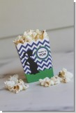 Ready To Pop Chevron Blue and Green - Baby Shower Popcorn Boxes