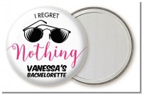 I Regret Nothing - Personalized Bridal Shower Pocket Mirror Favors