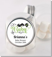 It's A Baby - Personalized Baby Shower Candy Jar