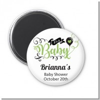 It's A Baby - Personalized Baby Shower Magnet Favors