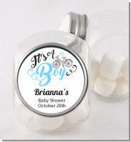 It's A Boy - Personalized Baby Shower Candy Jar