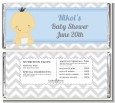 It's A Boy Chevron Asian - Personalized Baby Shower Candy Bar Wrappers thumbnail