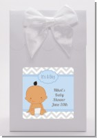 It's A Boy Chevron Hispanic - Baby Shower Goodie Bags