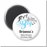 It's A Boy - Personalized Baby Shower Magnet Favors