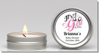 It's A Girl - Baby Shower Candle Favors