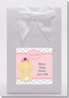 It's A Girl Chevron Asian - Baby Shower Goodie Bags