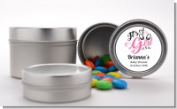 It's A Girl - Custom Baby Shower Favor Tins