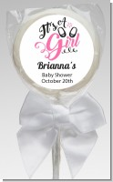 It's A Girl - Personalized Baby Shower Lollipop Favors