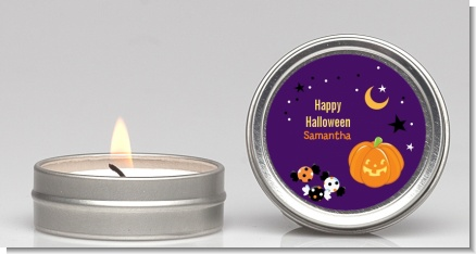 Jack O Lantern - Halloween Candle Favors