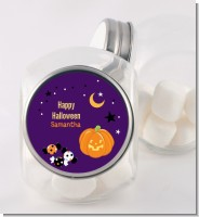 Jack O Lantern - Personalized Halloween Candy Jar