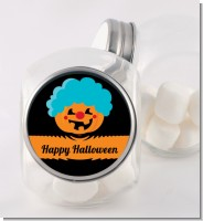 Jack O Lantern Clown - Personalized Halloween Candy Jar