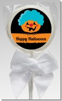Jack O Lantern Clown - Personalized Halloween Lollipop Favors