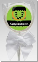 Jack O Lantern Frankenstein - Personalized Halloween Lollipop Favors