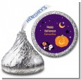 Jack O Lantern - Hershey Kiss Halloween Sticker Labels thumbnail
