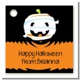 Jack O Lantern Mummy - Personalized Halloween Card Stock Favor Tags thumbnail