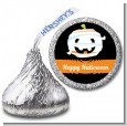 Jack O Lantern Mummy - Hershey Kiss Halloween Sticker Labels thumbnail