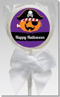 Jack O Lantern Pirate - Personalized Halloween Lollipop Favors