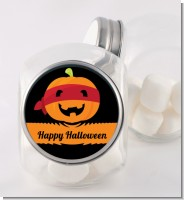 Jack O Lantern Superhero - Personalized Halloween Candy Jar