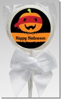 Jack O Lantern Superhero - Personalized Halloween Lollipop Favors