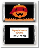 Jack O Lantern Superhero - Personalized Halloween Mini Candy Bar Wrappers