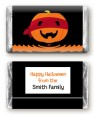 Jack O Lantern Superhero - Personalized Halloween Mini Candy Bar Wrappers thumbnail