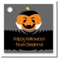 Jack O Lantern Vampire - Personalized Halloween Card Stock Favor Tags thumbnail