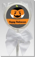 Jack O Lantern Vampire - Personalized Halloween Lollipop Favors