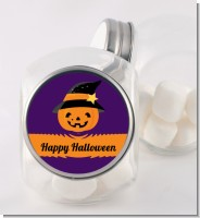 Jack O Lantern Witch - Personalized Halloween Candy Jar