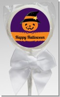 Jack O Lantern Witch - Personalized Halloween Lollipop Favors