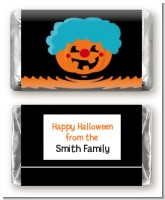 Jack O Lantern Clown - Personalized Halloween Mini Candy Bar Wrappers