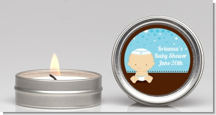Jewish Baby Boy - Baby Shower Candle Favors