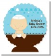 Jewish Baby Boy - Personalized Bar / Bat Mitzvah Centerpiece Stand thumbnail
